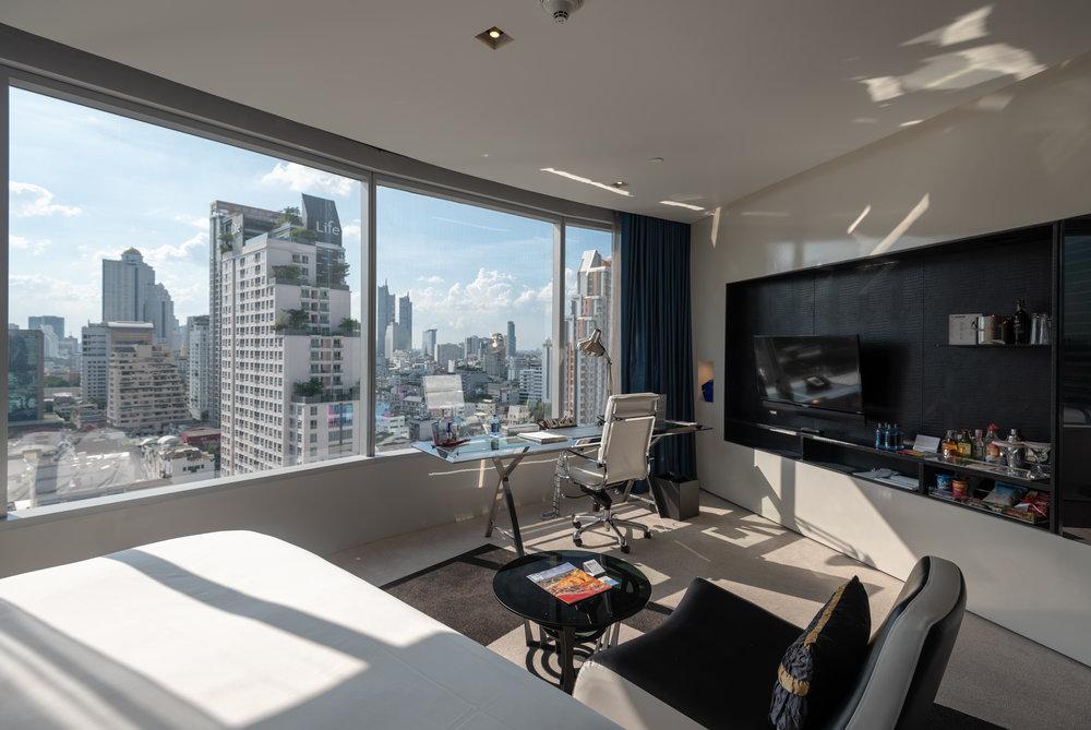 Bedroom  Spectacular Room - W Bangkok