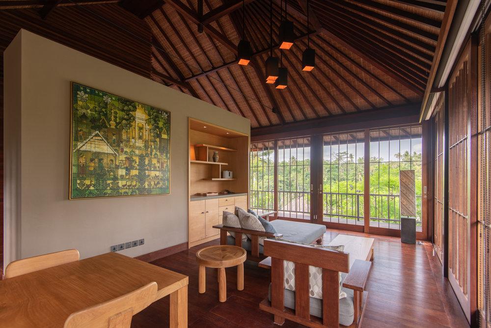 Living Area  Jalak - HOSHINOYA Bali