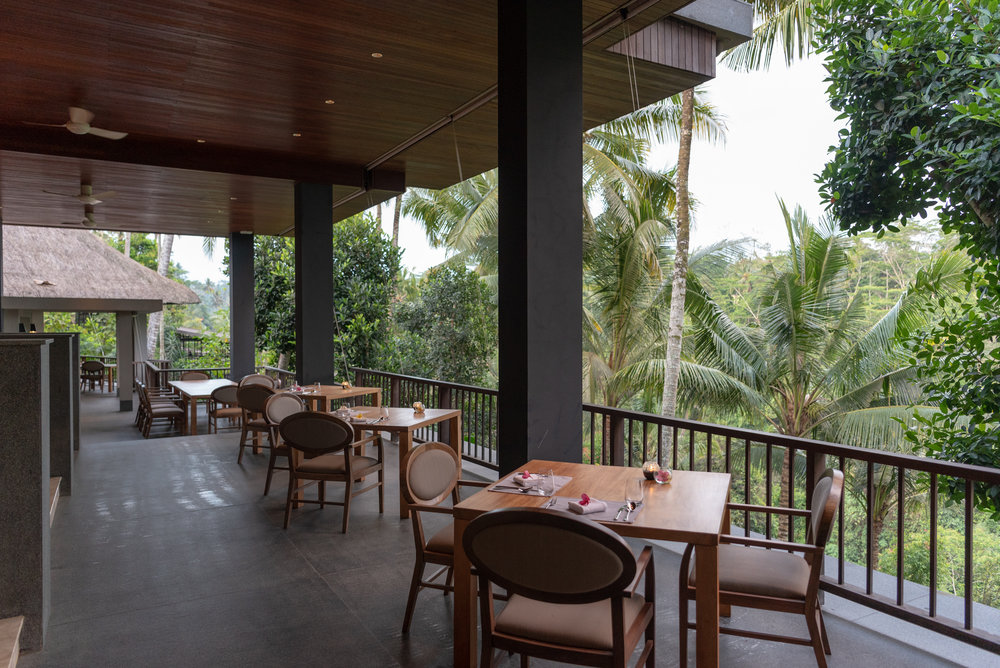 Restaurant with a View  Dining Hall - HOSHINOYA Bali