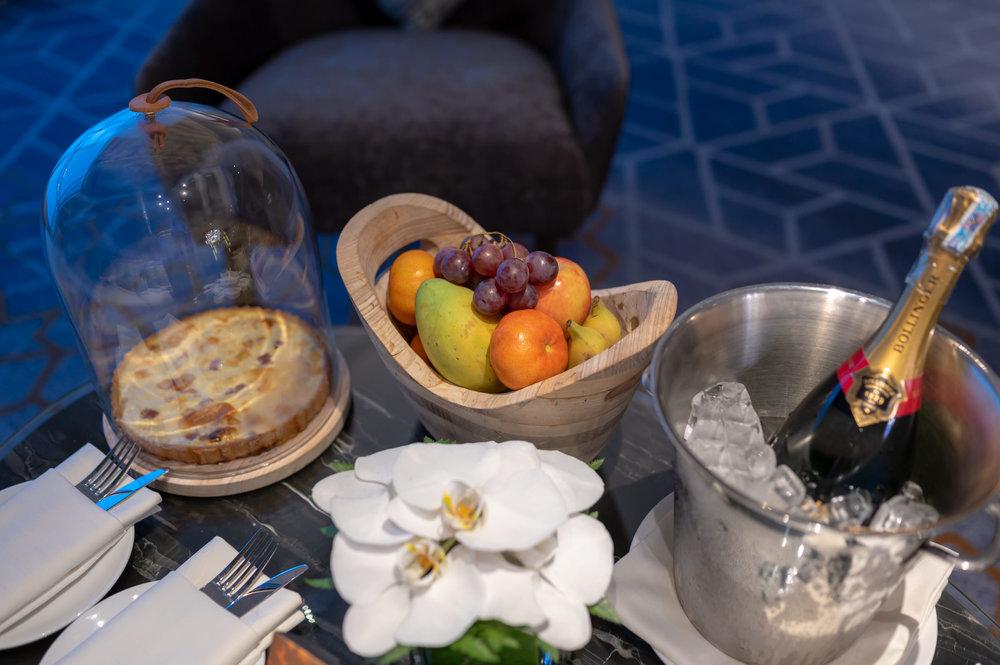 Welcome Amenities  Royal Suite - InterContinental Hanoi Landmark72