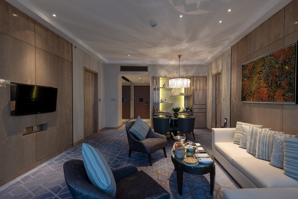 Living Room  Royal Suite - InterContinental Hanoi Landmark72