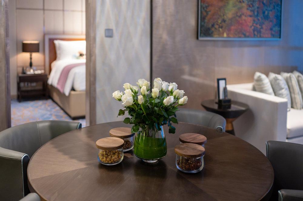 Fresh Flowers   Royal Suite - InterContinental Hanoi Landmark72