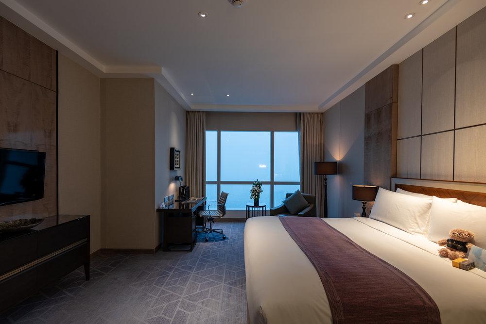 Master Bedroom  Royal Suite - InterContinental Hanoi Landmark72