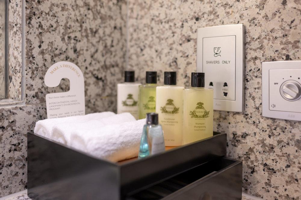 Bath Amenities  Royal Suite - InterContinental Hanoi Landmark72