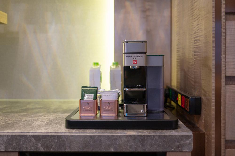 Coffee Machine  Royal Suite - InterContinental Hanoi Landmark72