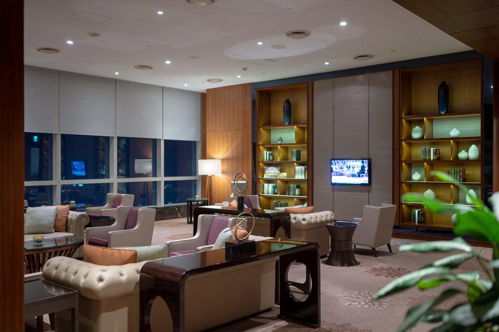 Study Area  Club InterContinental Lounge - InterContinental Hanoi Landmark72