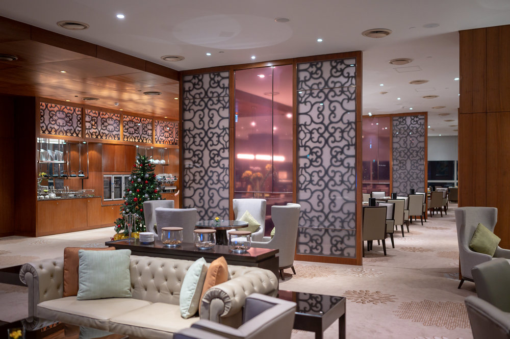 Interiors  Club InterContinental Lounge - InterContinental Hanoi Landmark72