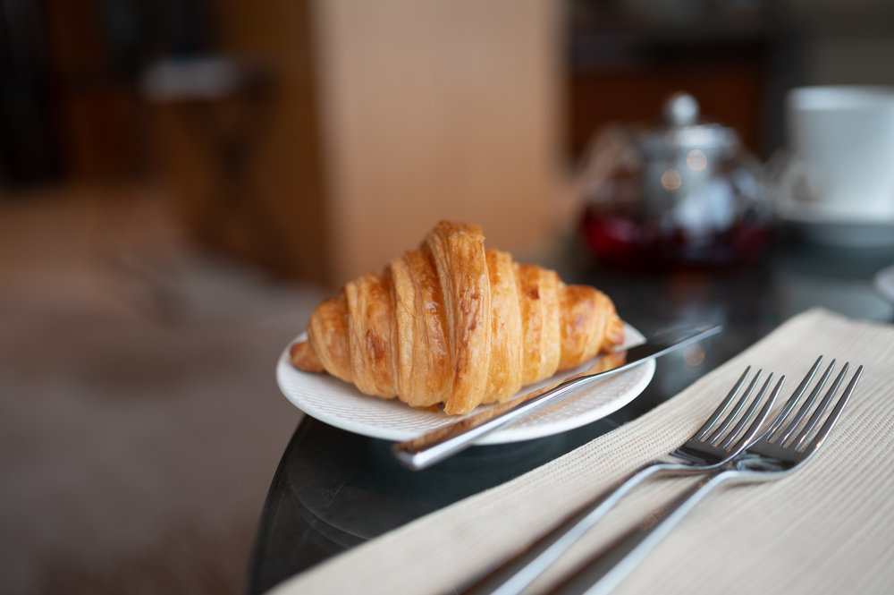 Fresh Croissant  Club InterContinental Lounge - InterContinental Hanoi Landmark72