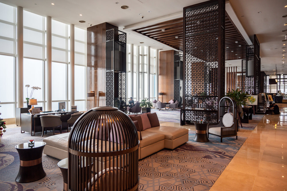 Hotel Lobby  InterContinental Hanoi Landmark72