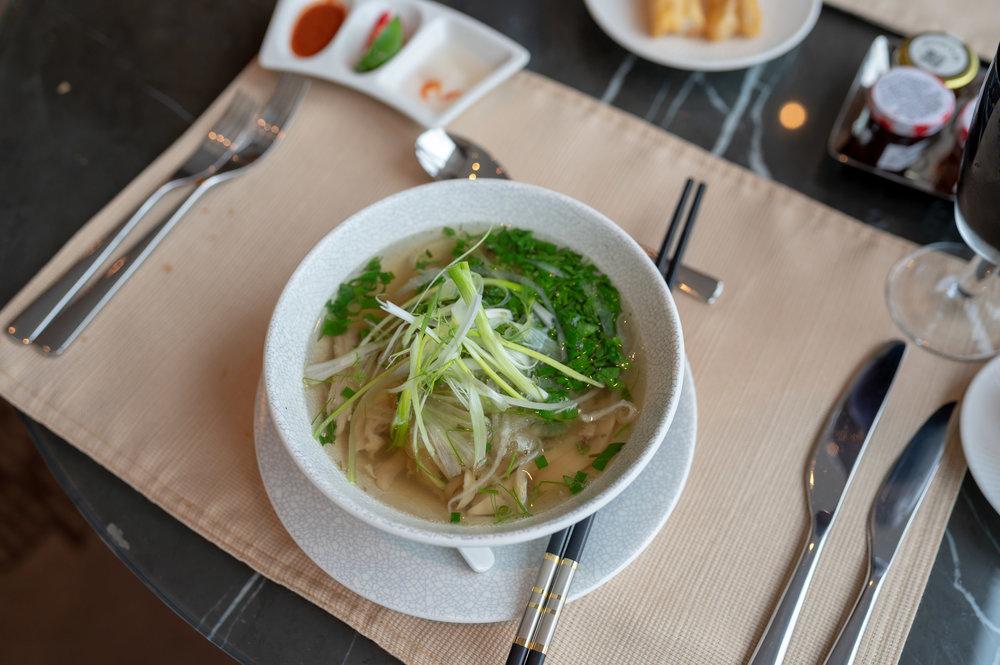 Chicken Pho  Club InterContinental Lounge - InterContinental Hanoi Landmark72