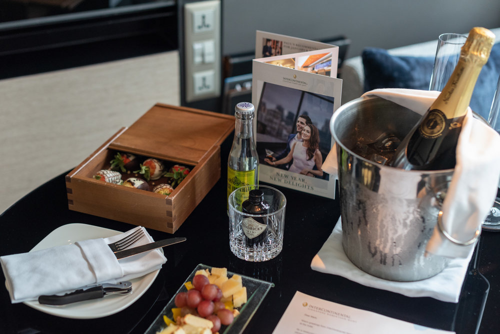 Welcome Amenities - Suite Life  Quayside Corner Suite - InterContinental Singapore Robertson Quay