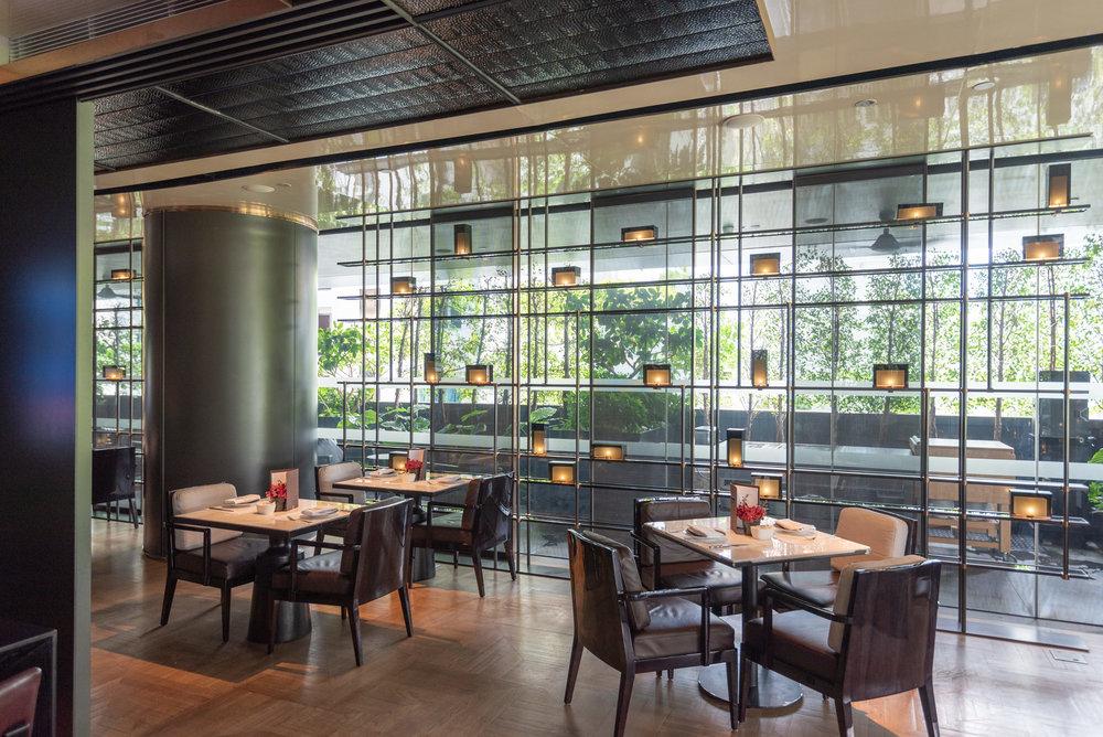Indoor Area  Club InterContinental Lounge - InterContinental Singapore Robertson Quay