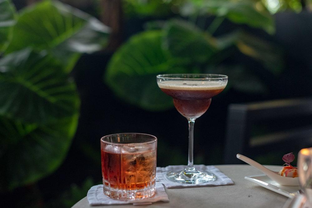 Evening Cocktails   Club InterContinental Lounge - InterContinental Singapore Robertson Quay