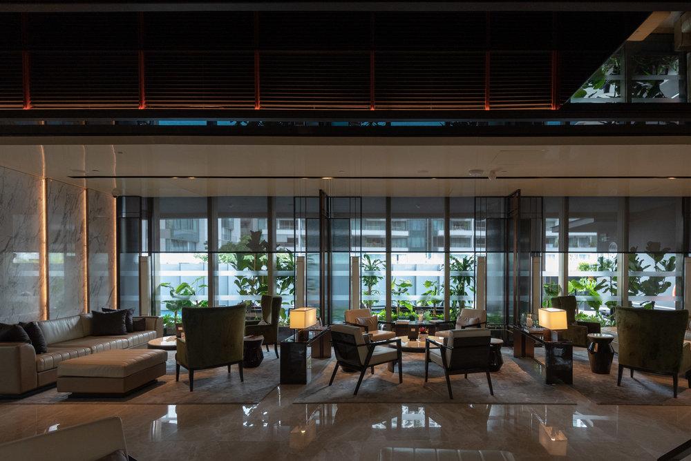 Hotel Lobby  InterContinental Singapore Robertson Quay