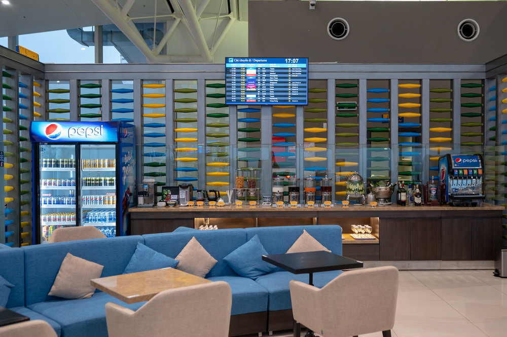 Drink Station  Song Hong Business Lounge - Noi Bai International AIrport (HAN)