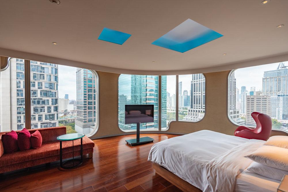 Bedroom  King Bed Deluxe - Andaz Xintiandi, Shanghai