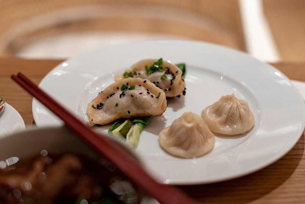 Dumplings  Kitchen Studios - Andaz Xintiandi, Shanghai