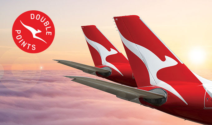 Double Qantas Points on QF Flights Worldwide - Book by 08 April 2019