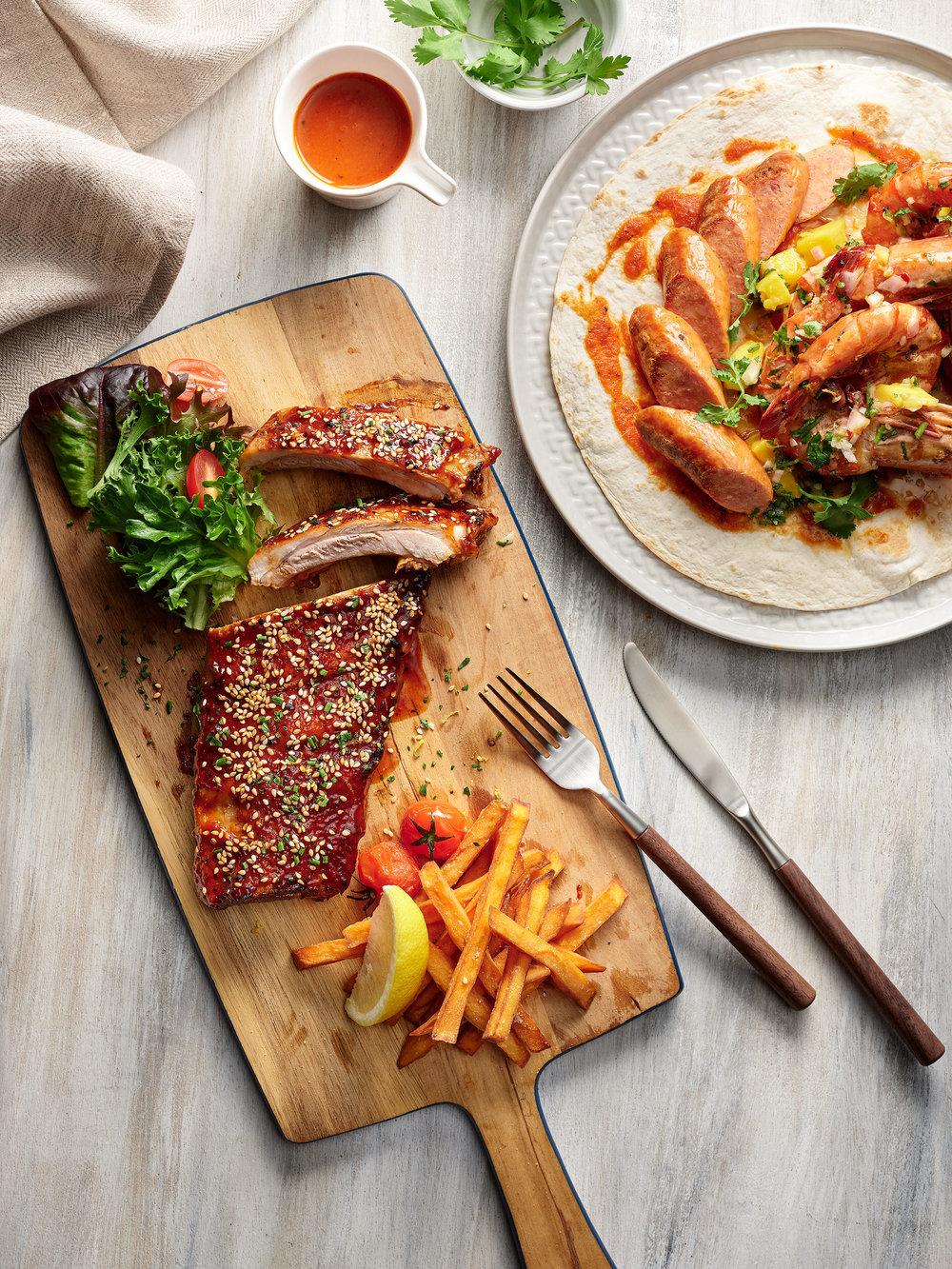 [NEW] Barbecued Pork Spare Ribs, Prawn and Chorizo Chimichurri_1.jpg