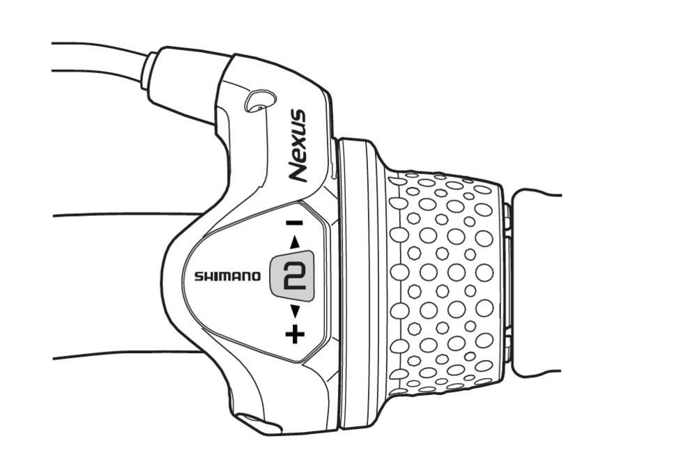 Shimano 3-Speed Nexus internal geared hub anjustment