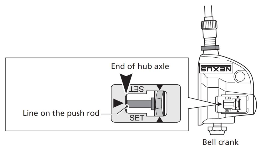 Shimano 3-Speed Nexus internal geared hub instructions