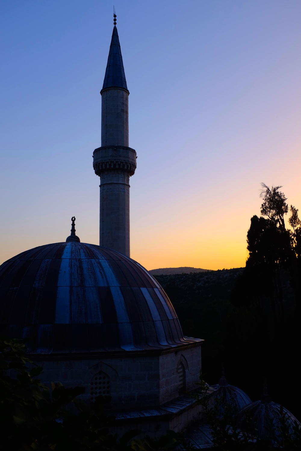 Mosque at Dusk - A Pilot's Daughter