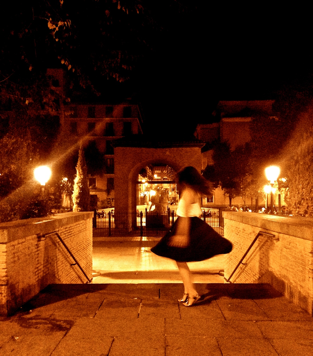 Madrid, Dancing, Solo - A Pilot's Daughter