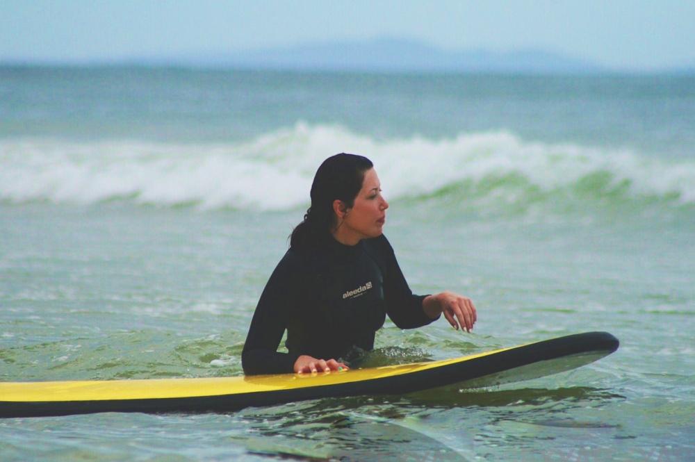 Surfing, Byron Bay, Helen Hayden - A Pilot's Daughter