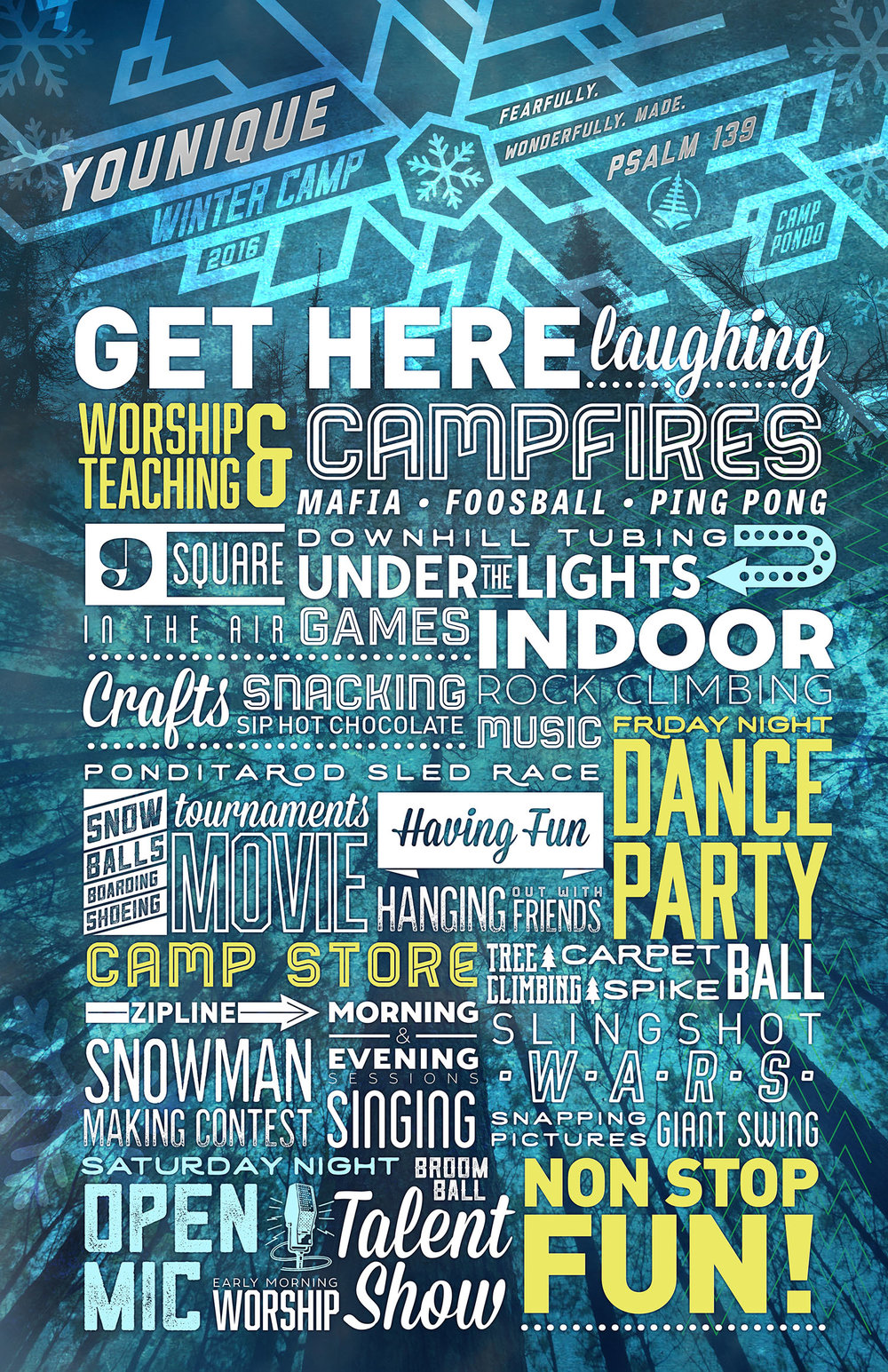 Winter Activities Posters