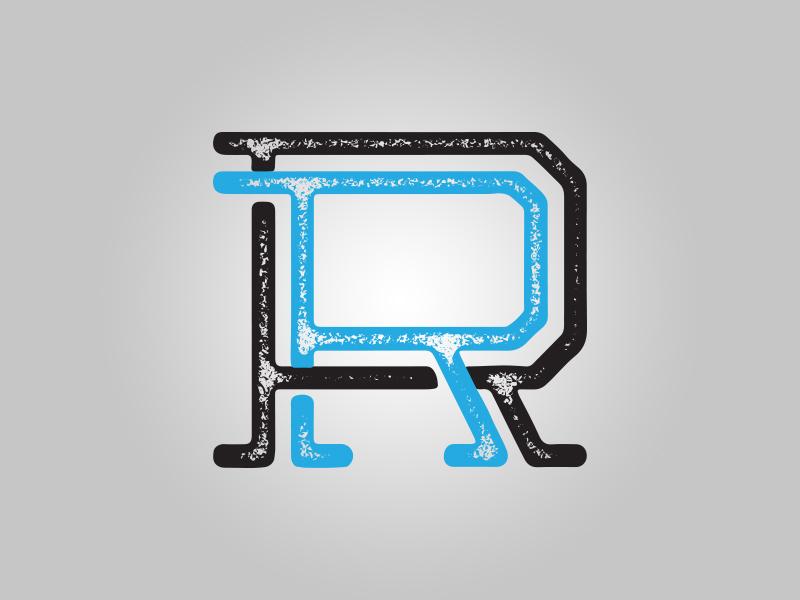 Detail of R&R monogram