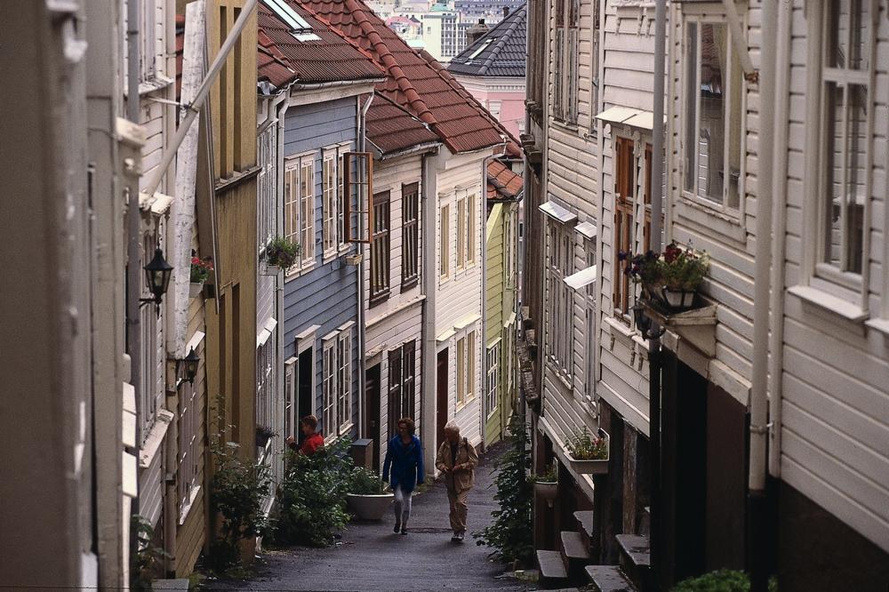 Bergen, Knøsesmauet