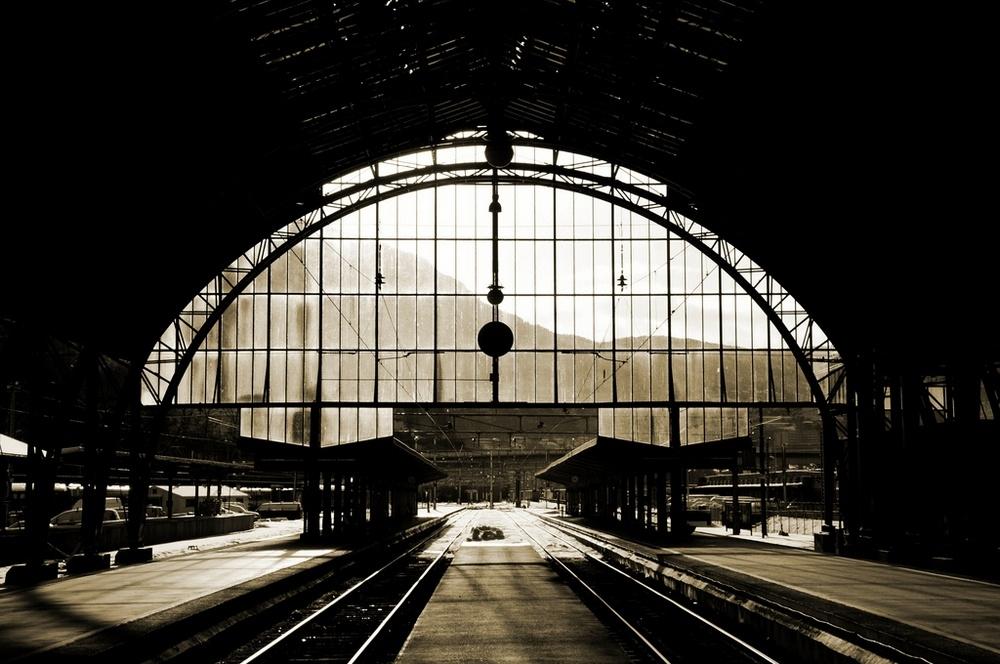 Bergen train station