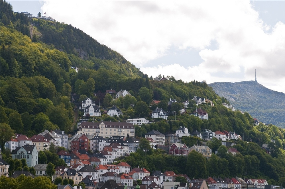 Bergen, Fløyen and Ulriken