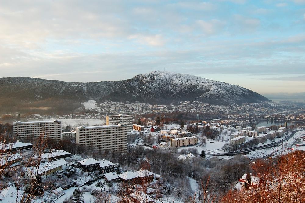 Bergen, suburbs