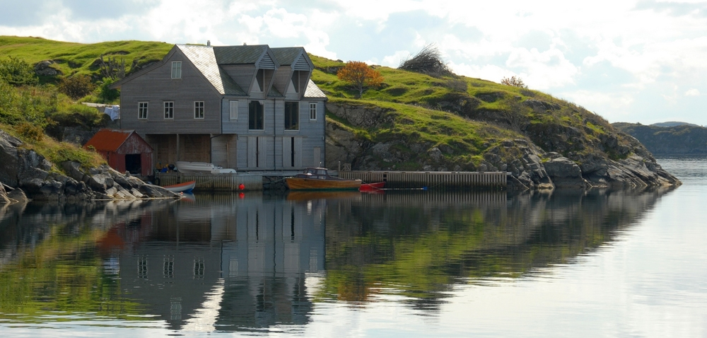 Scenery from Austevoll