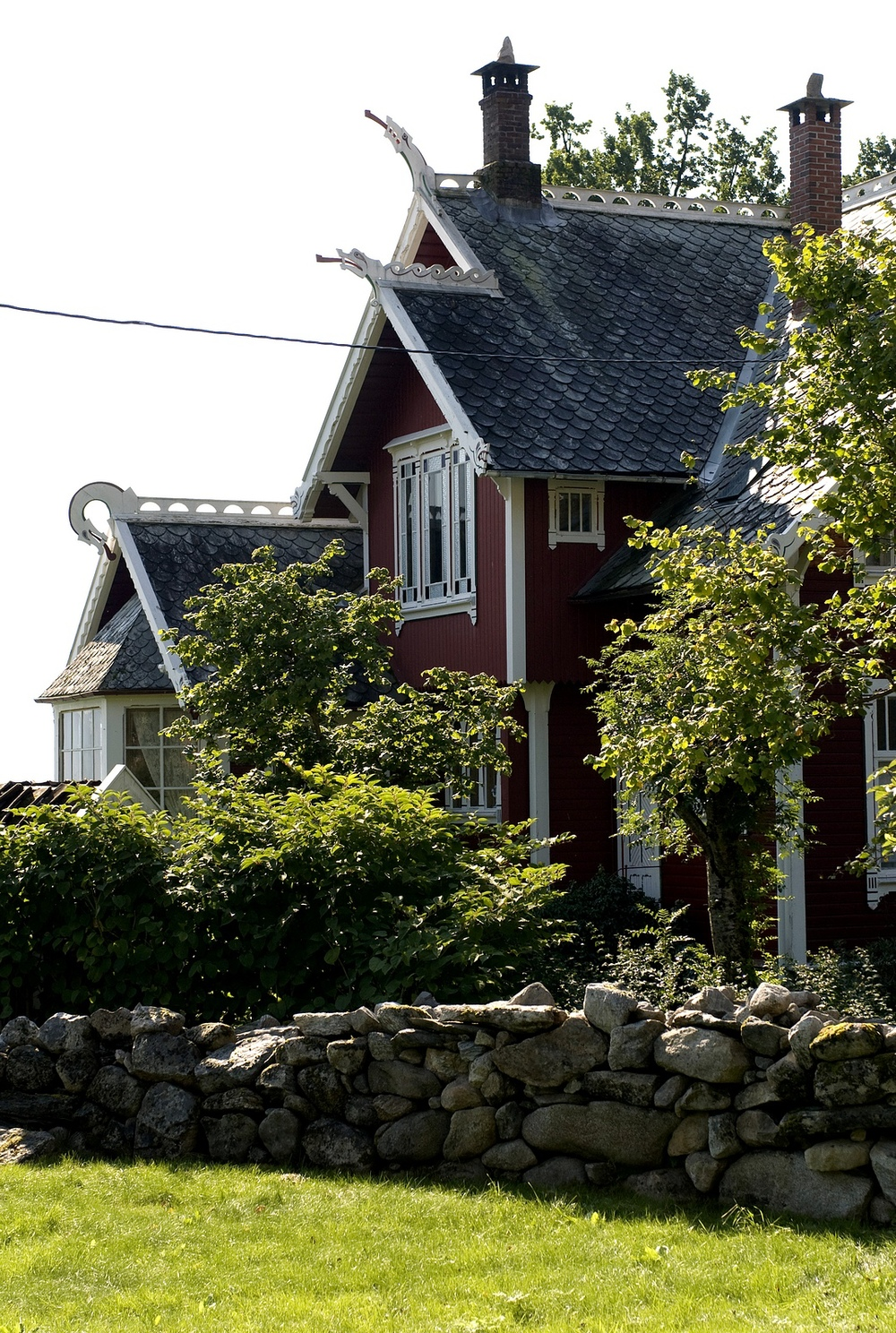 Swiss house in Balestrand