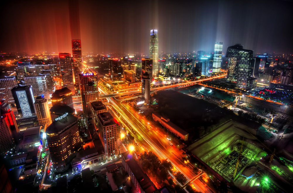 Beijing CBD. Photo by T. Ratcliff. Some rights reserved.