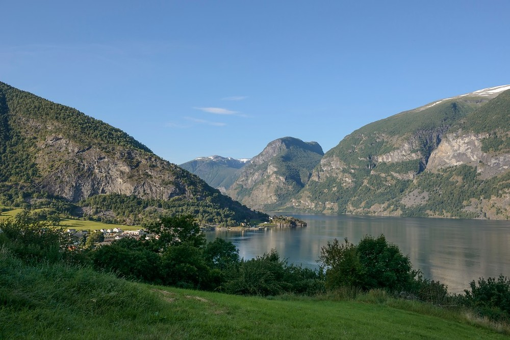 Aurland, August 15th. Photo by Roger Ellingsen / Statens Vegvesen.