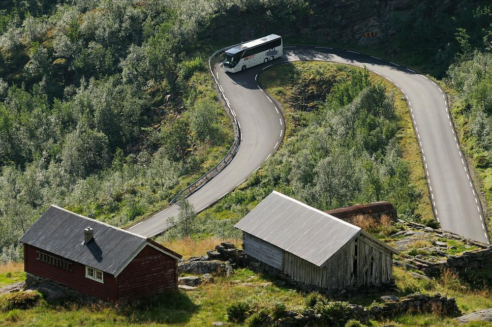 Gaularfjellet, August 22nd. Photo by Jarle Wæhler / Statens Vegvesen.