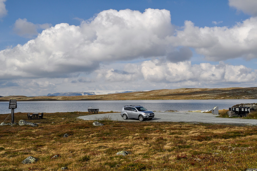Hardangervidda, September 8th. Photo by Kjersti Wold / Statens Vegvesen.