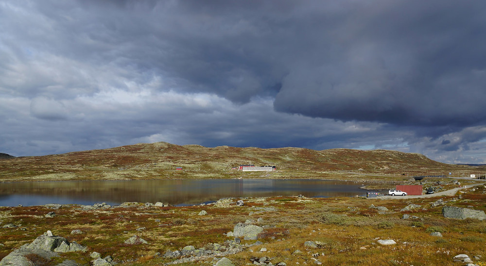 Hardangervidda, September 21st. Photo by Hege Lysholm / Statens Vegvesen.