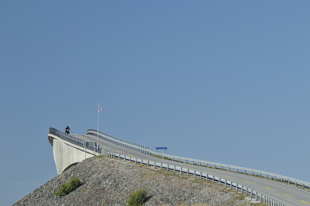 Atlantic Road - Atlanterhavsvegen, September 8th. Photo by Jarle Wæhler, Statens Vegvesen.