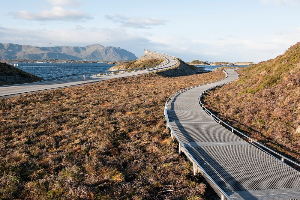 Atlantic Road - Atlanterhavsvegen, October 2nd. Photo by Jiri Havran, Statens Vegvesen.