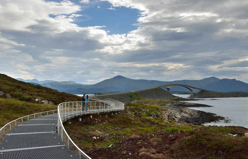 Atlantic Road / Atlanterhavsvegen, July 5th. Photo by Roger Ellingsen / Statens Vegvesen.