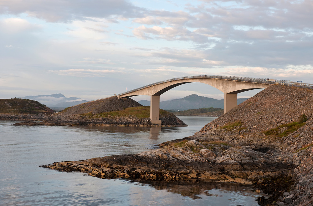 Atlantic Road - Atlanterhavsvegen, July 15th. Photo by Jiri Havran, Statens Vegvesen.