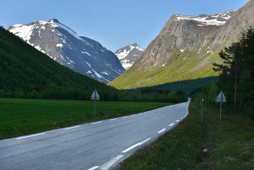 Near Trollstigen, June 15th. Photo by Jarle Wæhler / Statens Vegvesen.