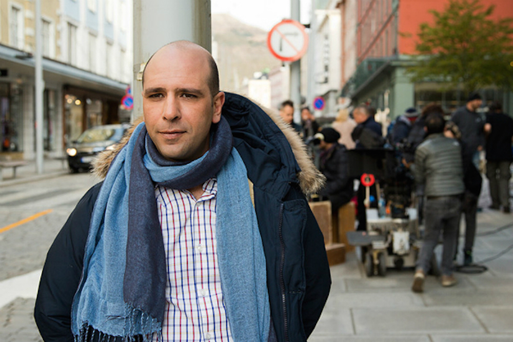 Checco Zalone in Bergen, Norway. Press photo.