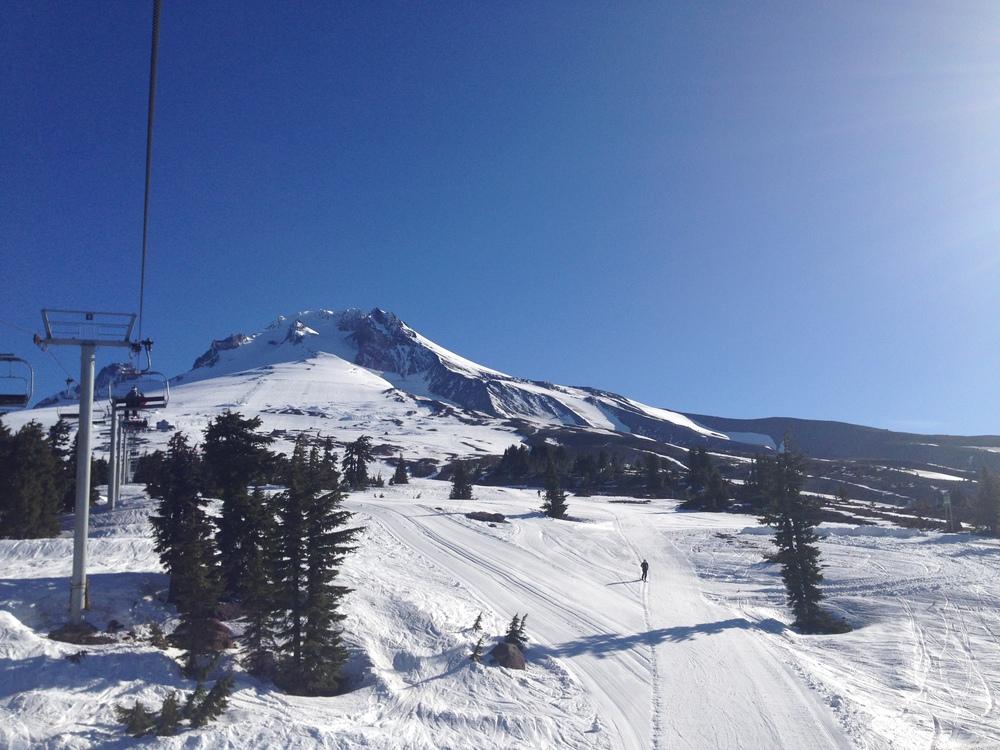 Beautiful Mt. hood in the morning!