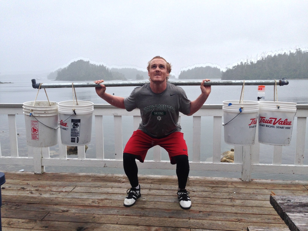 Getting strong..Alaska style.