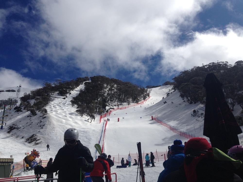 Mt. Hotham race hill